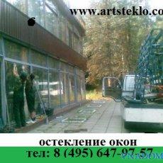 Монтаж витрин, резка и доставка стекла