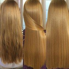 Наращивание волос, кератиновое выпрямление и ботокс