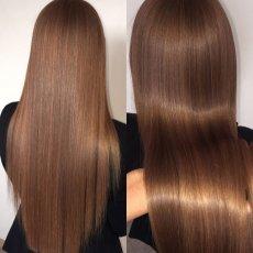 Наращивание волос, кератиновое выпрямление, ботокс