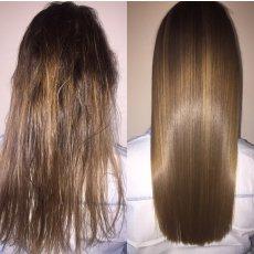 Ботокс для волос / Кератиновое выпрямление волос