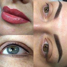 Перманентный макияж бровей, губ / татуаж / покраска хной