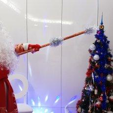 Дед мороз музыкант на Новый год