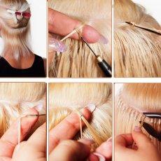 Наращивание волос (капсульное, ленточное)