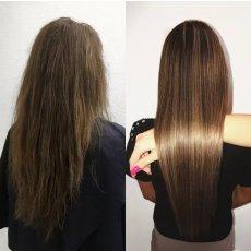 Кератин и ботокс для волос, выезд бесплатно