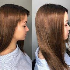 Кератиновое выпрямление волос, ботокс для волос, биксипластия