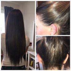 Наращивание и окрашивание волос