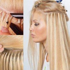 Наращивание волос, снятие, коррекция, выпрямление