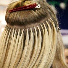 Наращивание волос капсулы ленты ботокс кератин