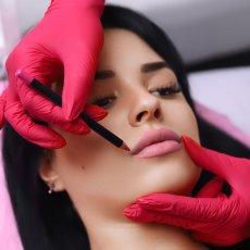 Перманентный макияж бровей, губ