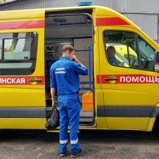Машина скорой помощи на мероприятие