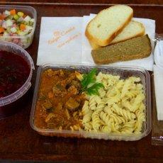 Обеды и ужины для строителей