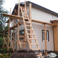 Бригада плотников в Москве
