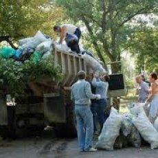 Уборка участка и вывоз мусора