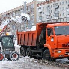 Уборка снега в Омске