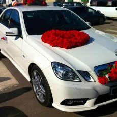 Свадебные автомобили Mercedes Benz E 200