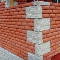 Отделка домов, коттеджей имитацией кирпича