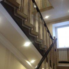Делаю лестницы из лиственницы