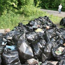 Вывоз мусора с дач и стройплощадок