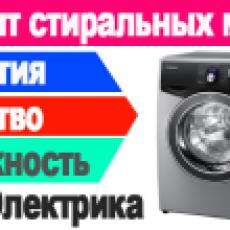 Ремонт стиральных машин в Москве без посредников