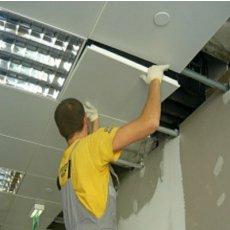 Демонтируем подвесные потолки