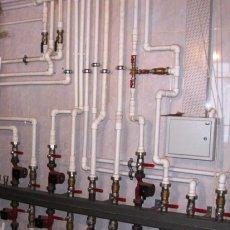 Монтаж систем отопления установка котлов, обвязка.
