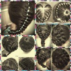 Плетение кос/вечерние причёски