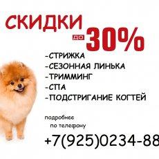 Стрижка собак и кошек Новопеределкино