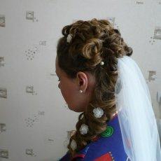 Свадебные прически, макияж, маникюр на дому