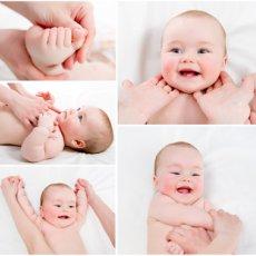 Массаж детям с 1 месяца