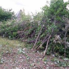 Расчистка участка, подготовка под огород Тюмень.