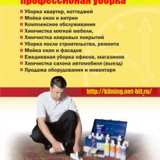 Профессиональная уборка квартир и домов.