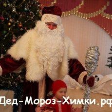 Заказать Деда Мороза в Химках, Куркино, Сходня