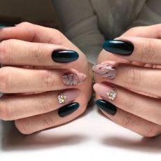 Наращивание ногтей. Покрытие шеллаком